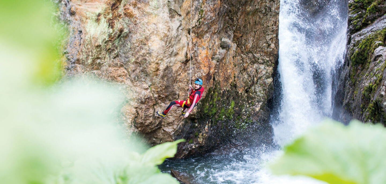canyoning Tyrol