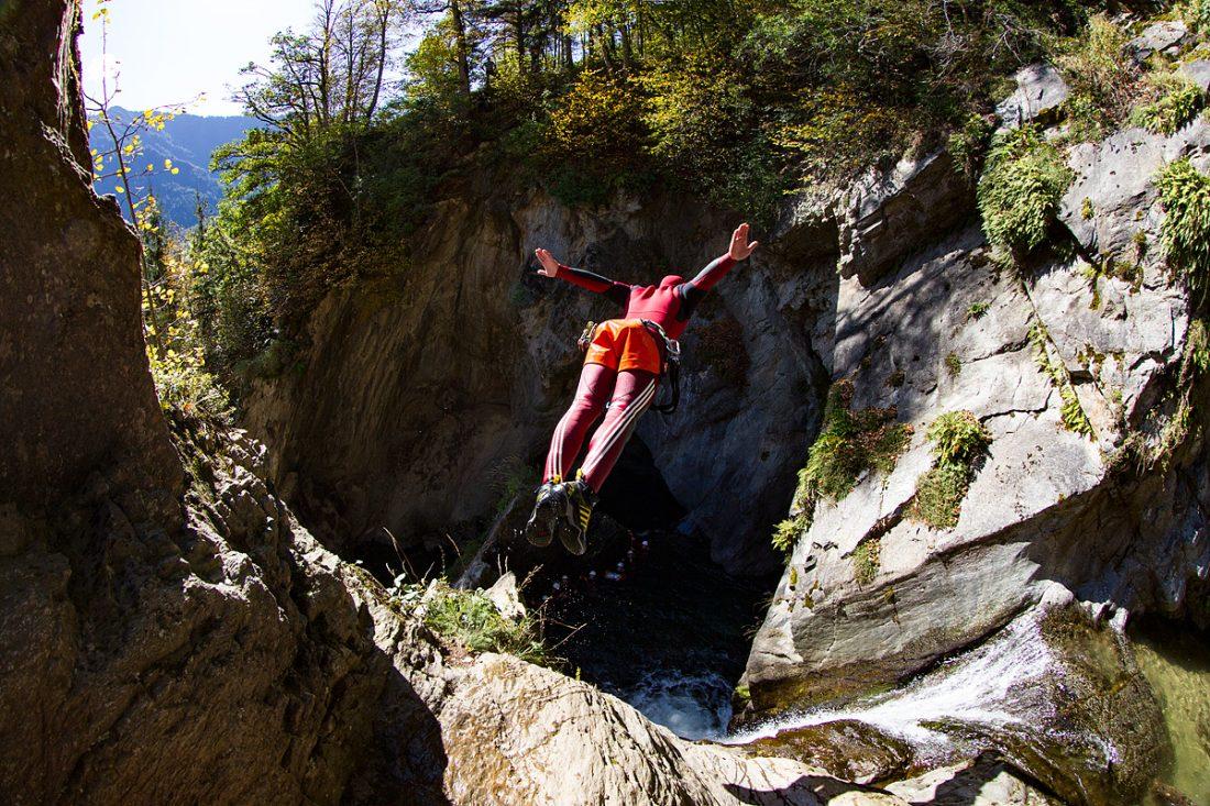 Canyoning around Tirol