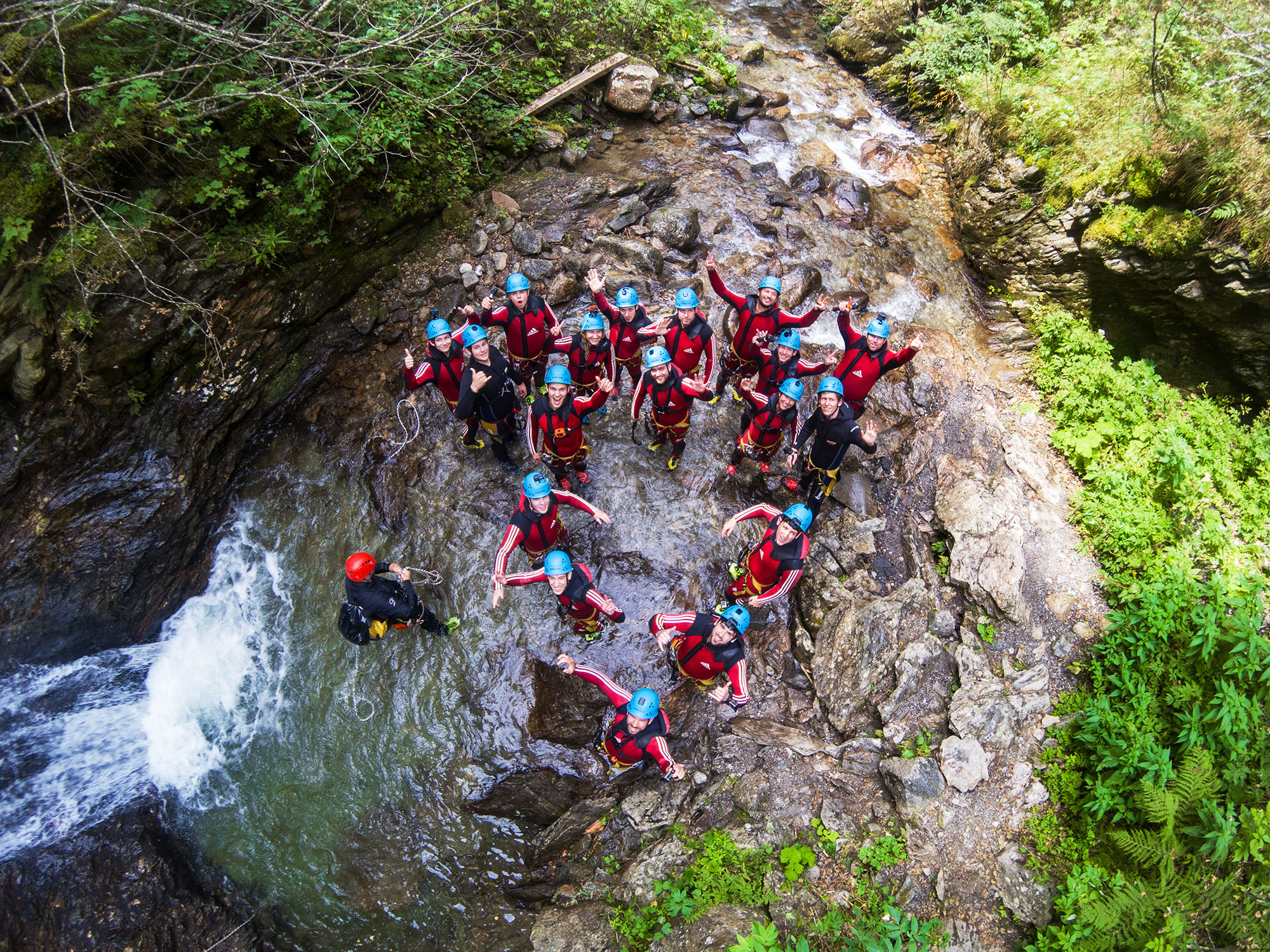 Canyoning tour Oetztal
