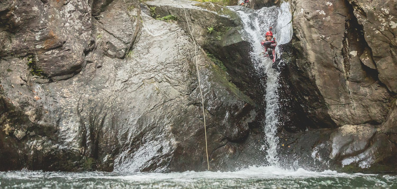 Canyoning tours in Tirol