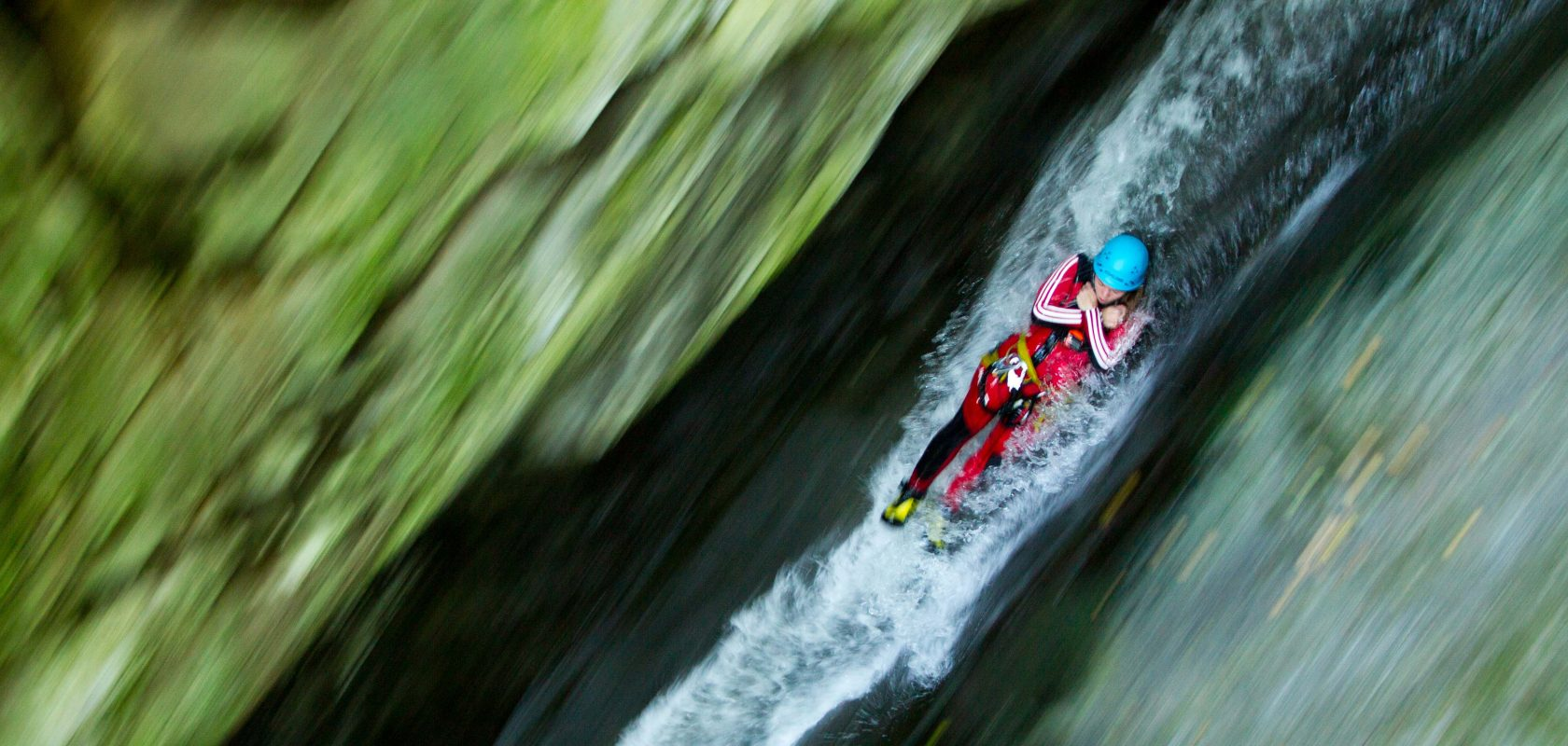 Canyoning tours at AREA 47