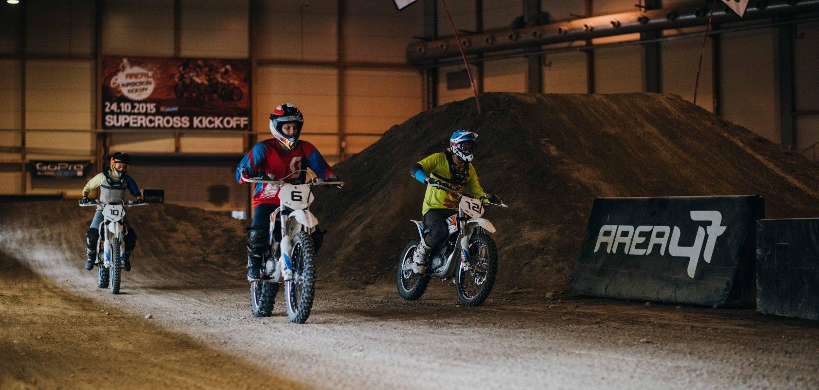 Electronic motocross in Tirol
