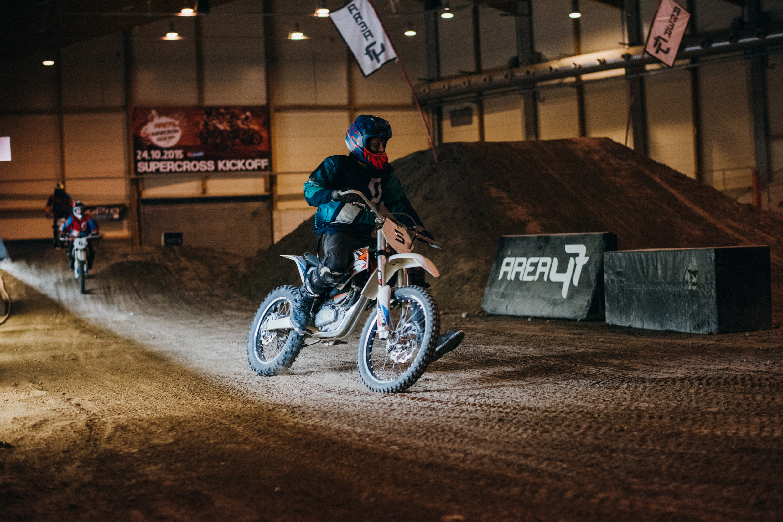 Electric Motocross at AREA 47