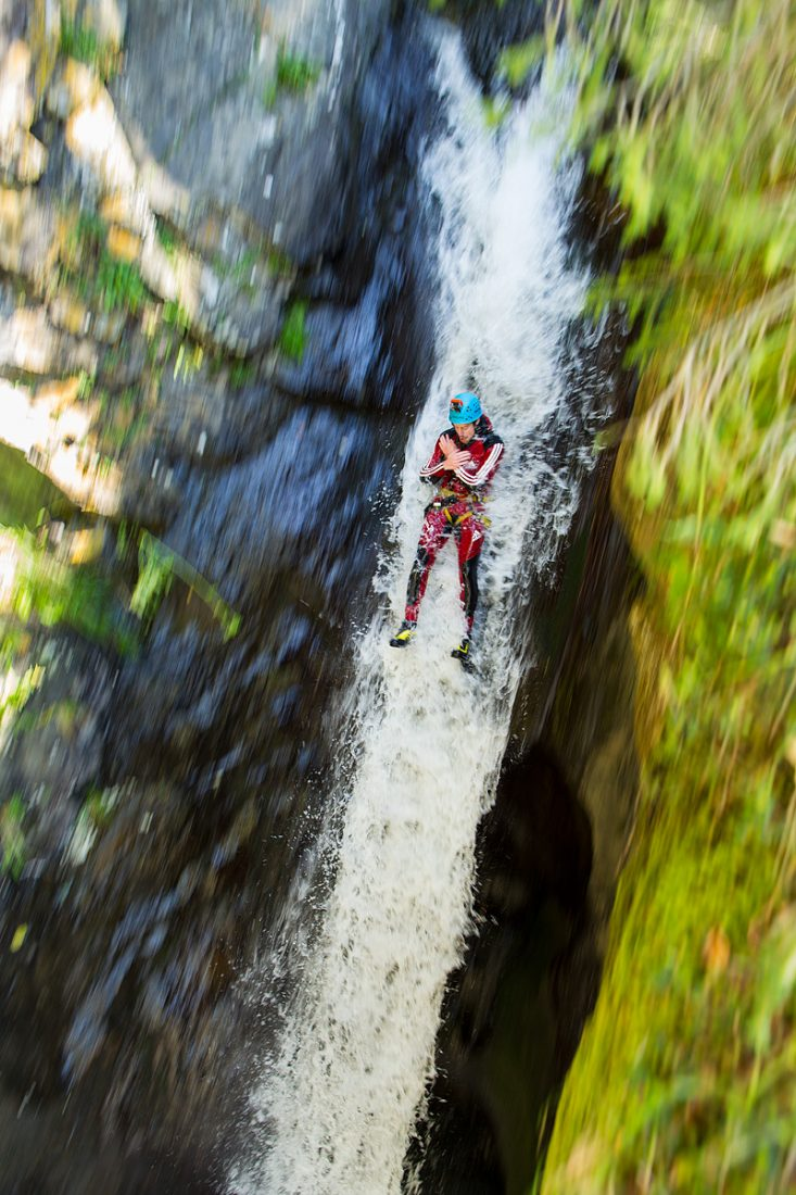 Guided canyoning tour Oetztal