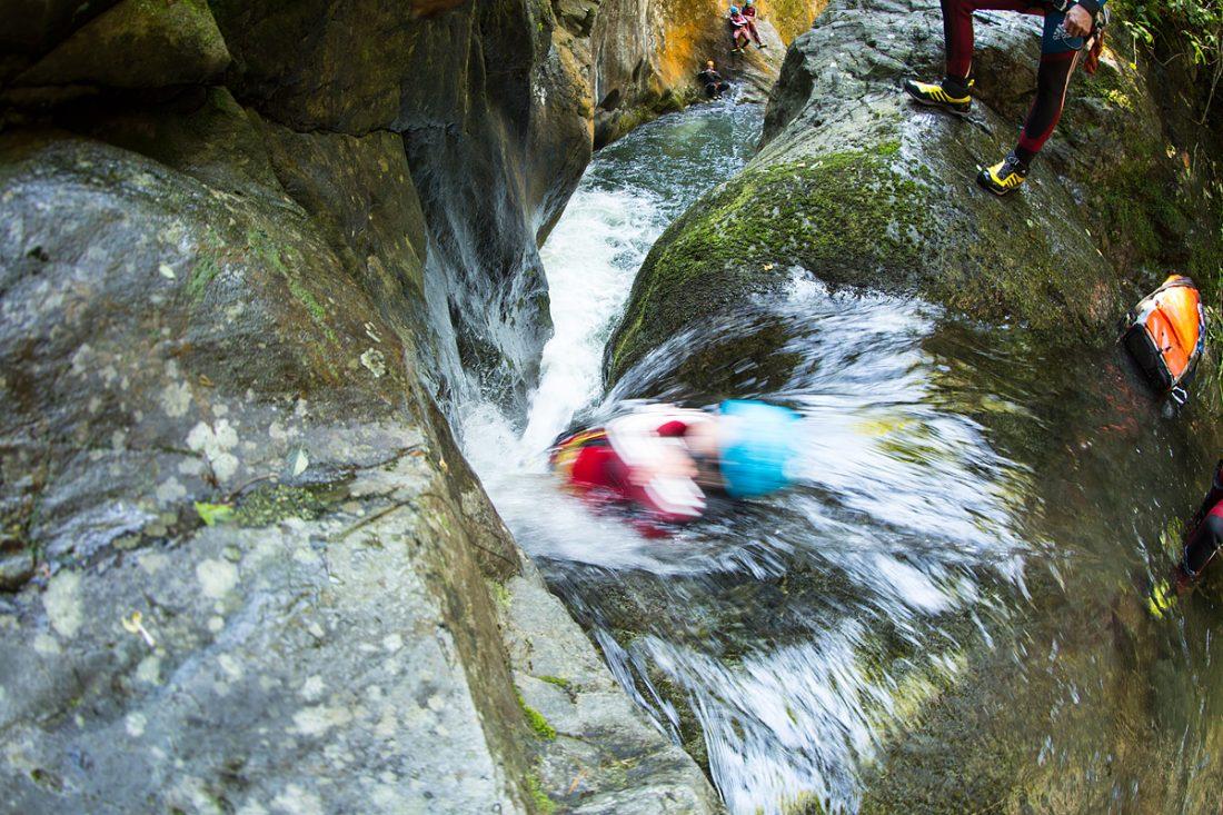 Canyoning tour in Tirol