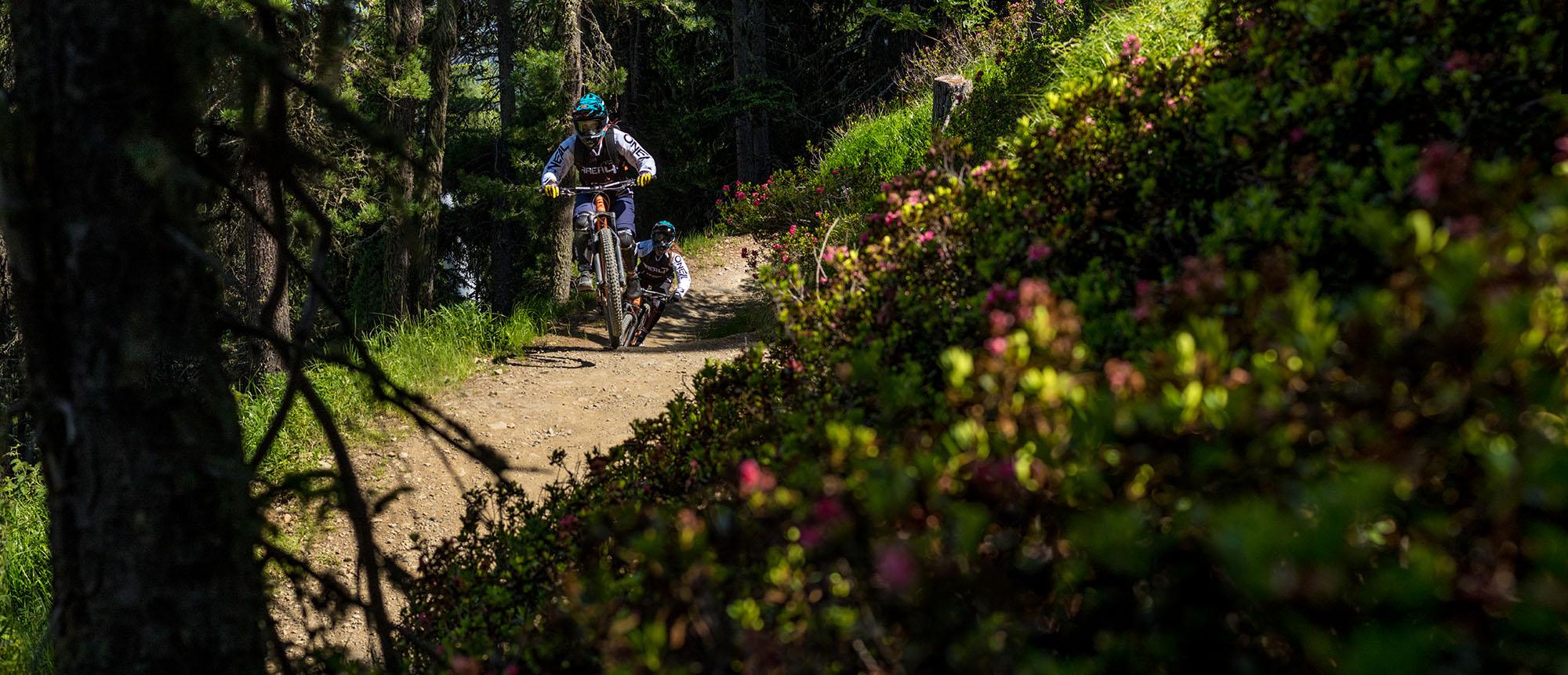 Mountainbike Touren mit der AREA 47 Bike Academy