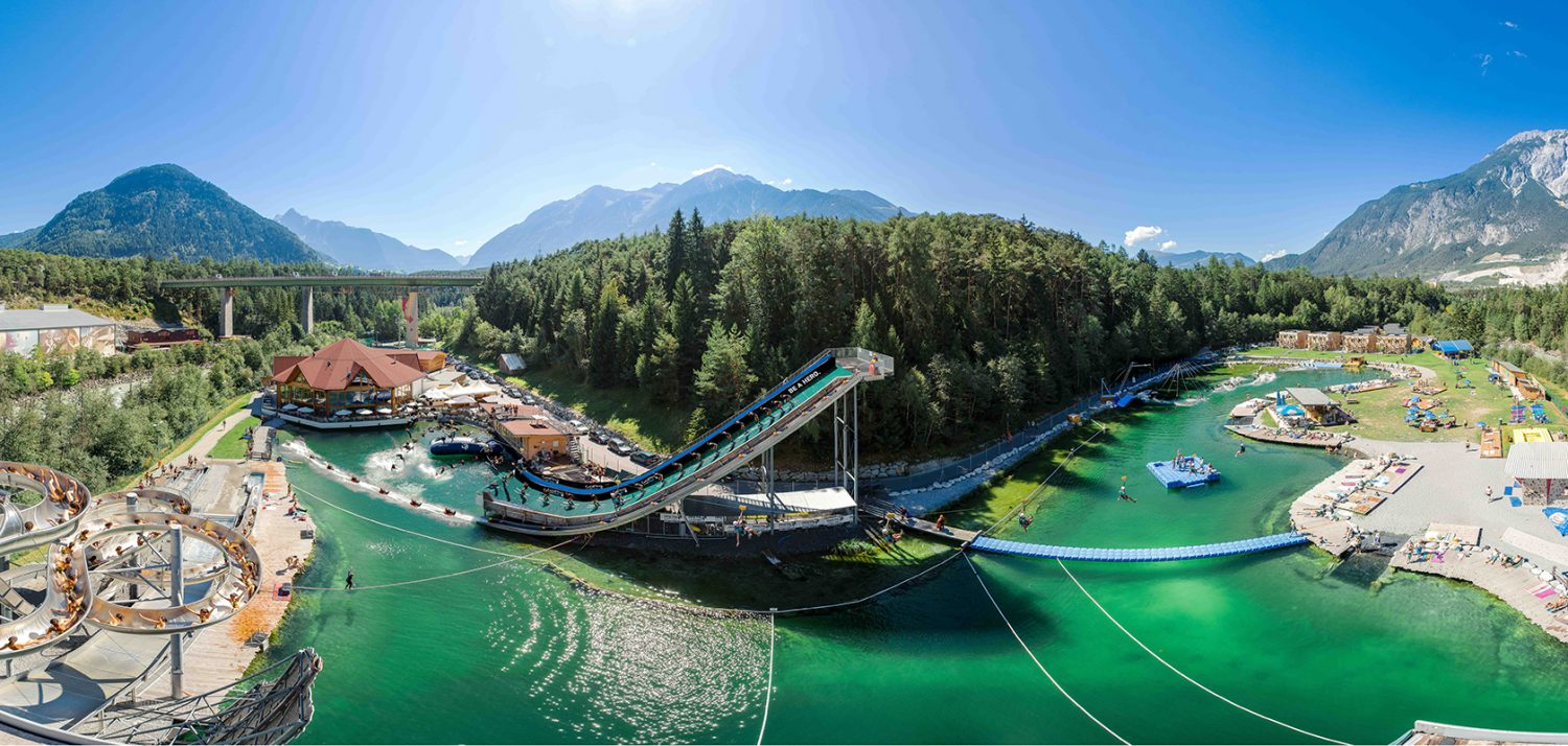 The coolest water park in Tirol