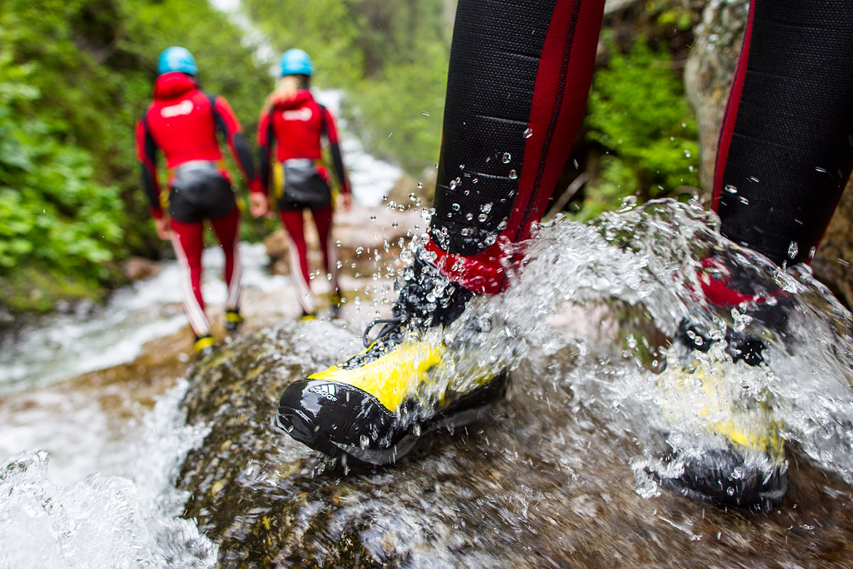 Canyoning in Austria