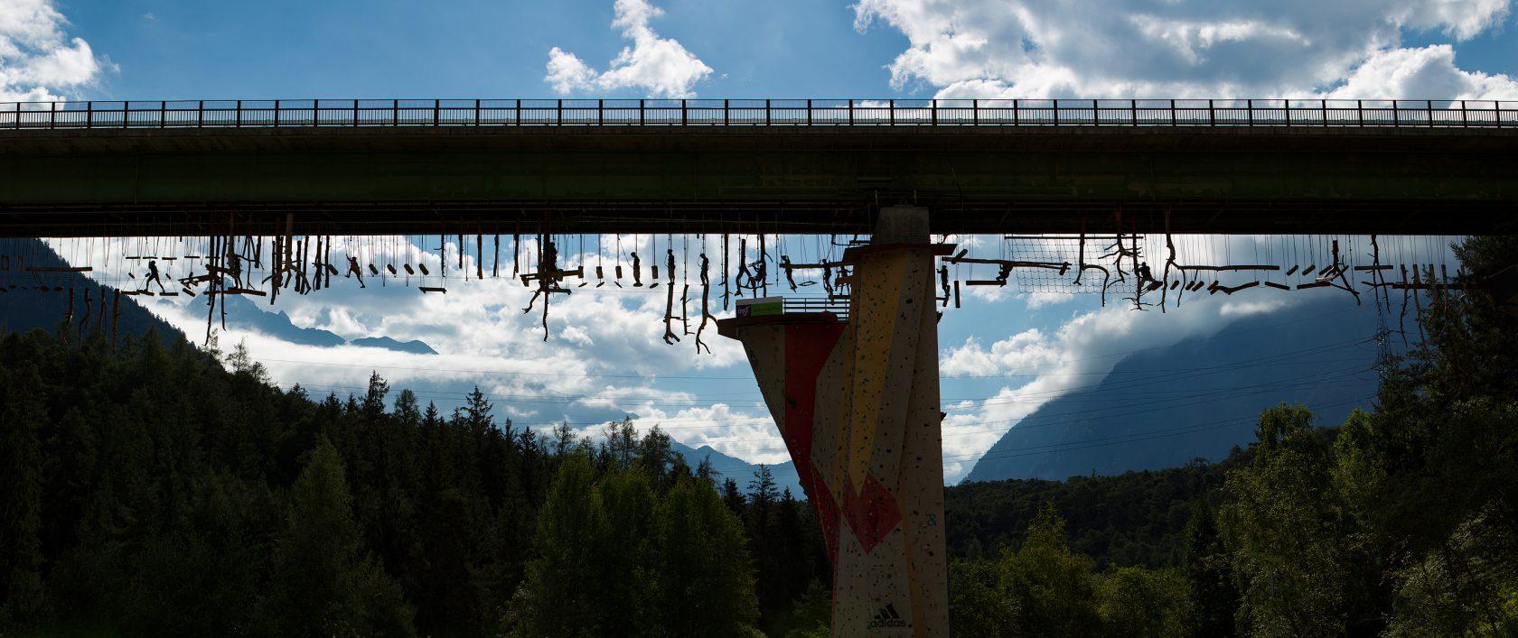 Austrias highest high ropes course