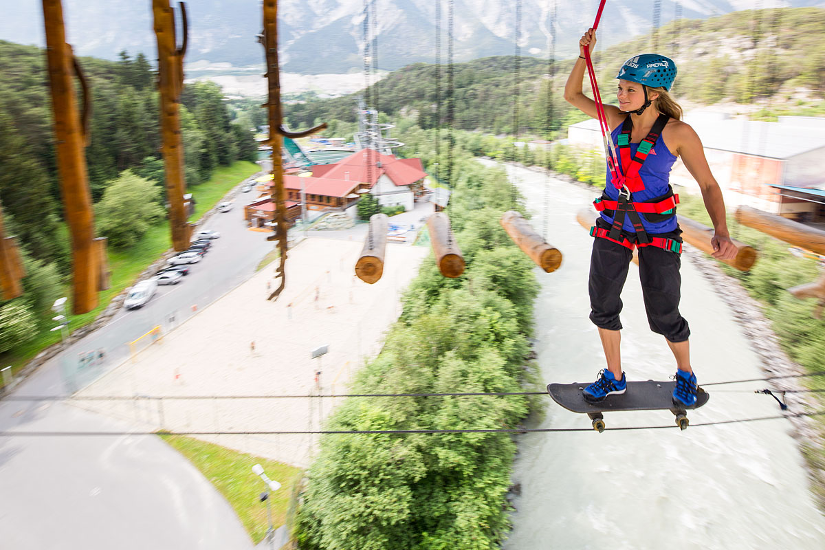 High ropes course Oetztal