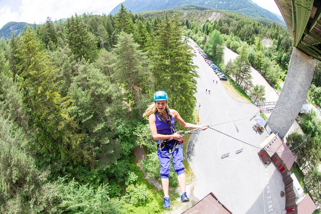 Climbing tours at AREA 47