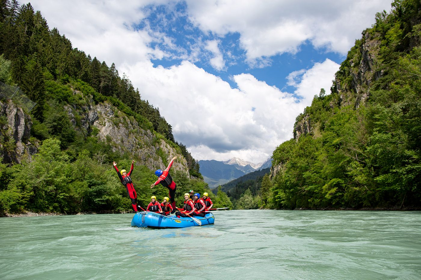 Your adventure: Rafting