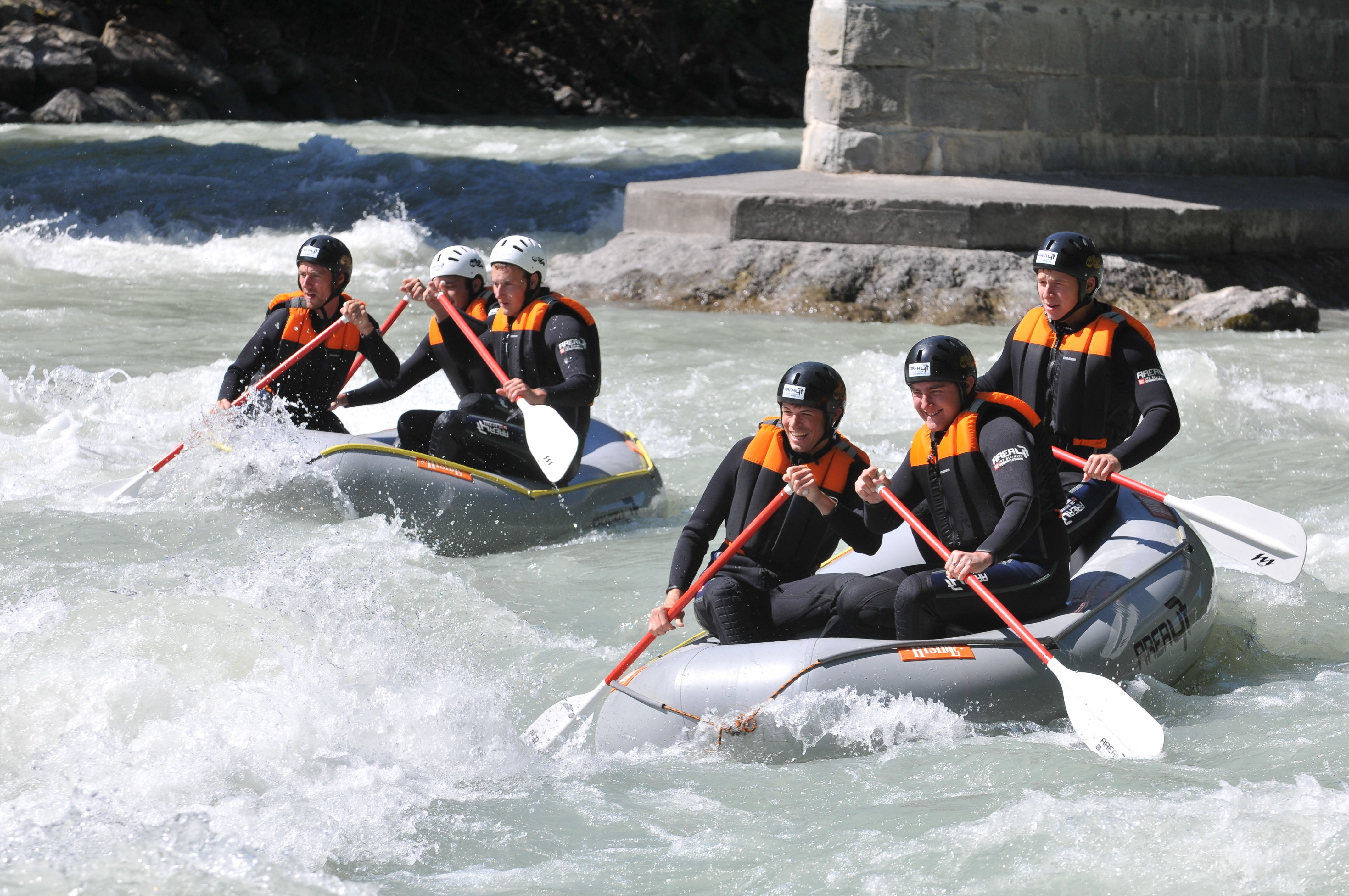 Rafting tour Oetztal