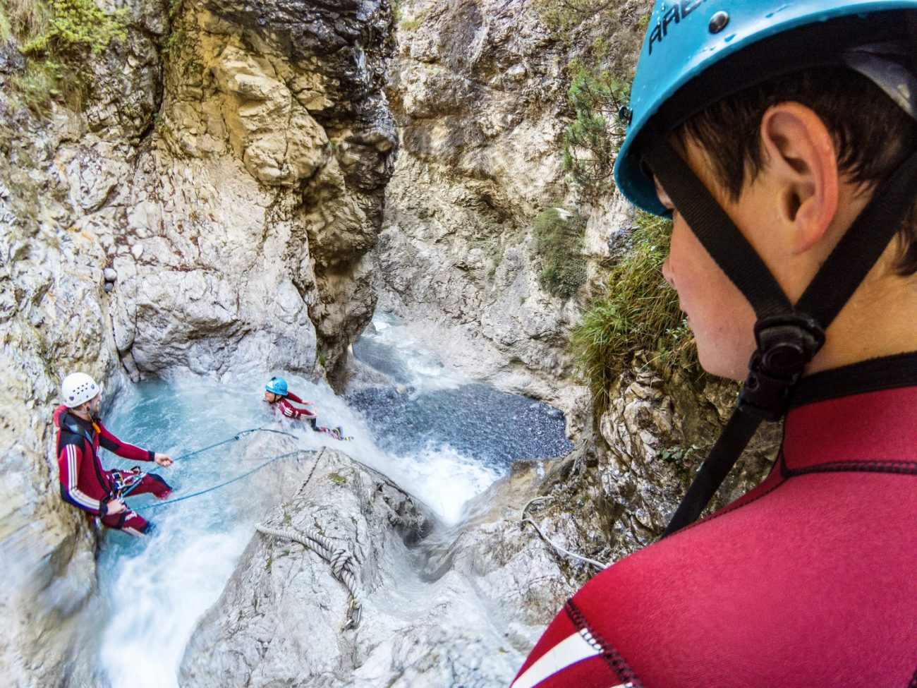Canyoning: Trust each other