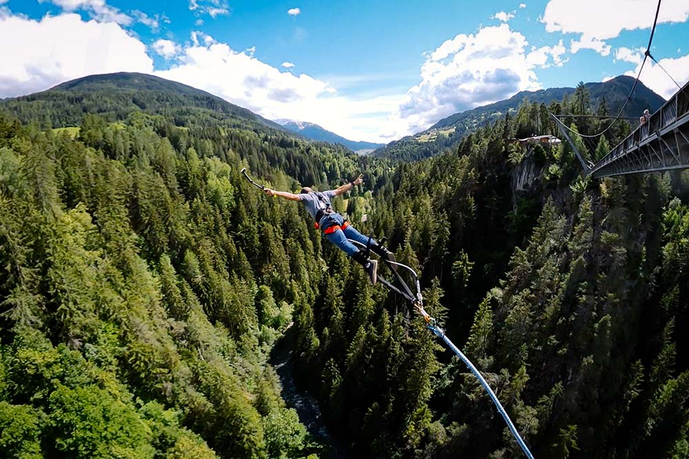 Bungy Jumping in Tyrol