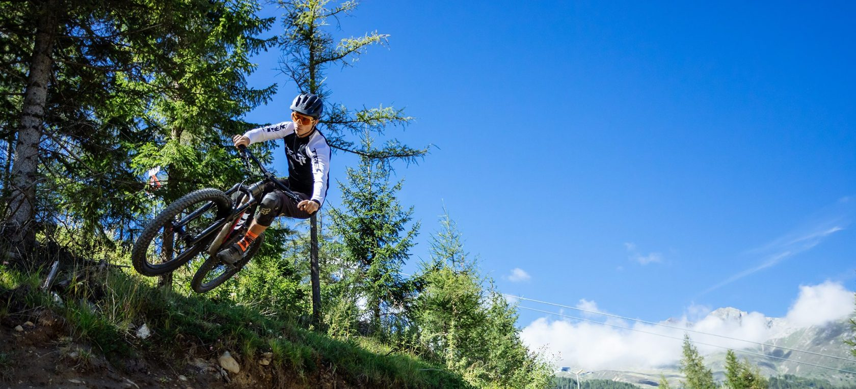 single tracks in Tyrol