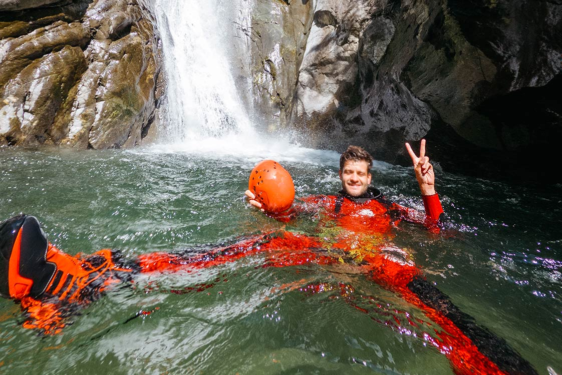 The Ötztal canyoning experience