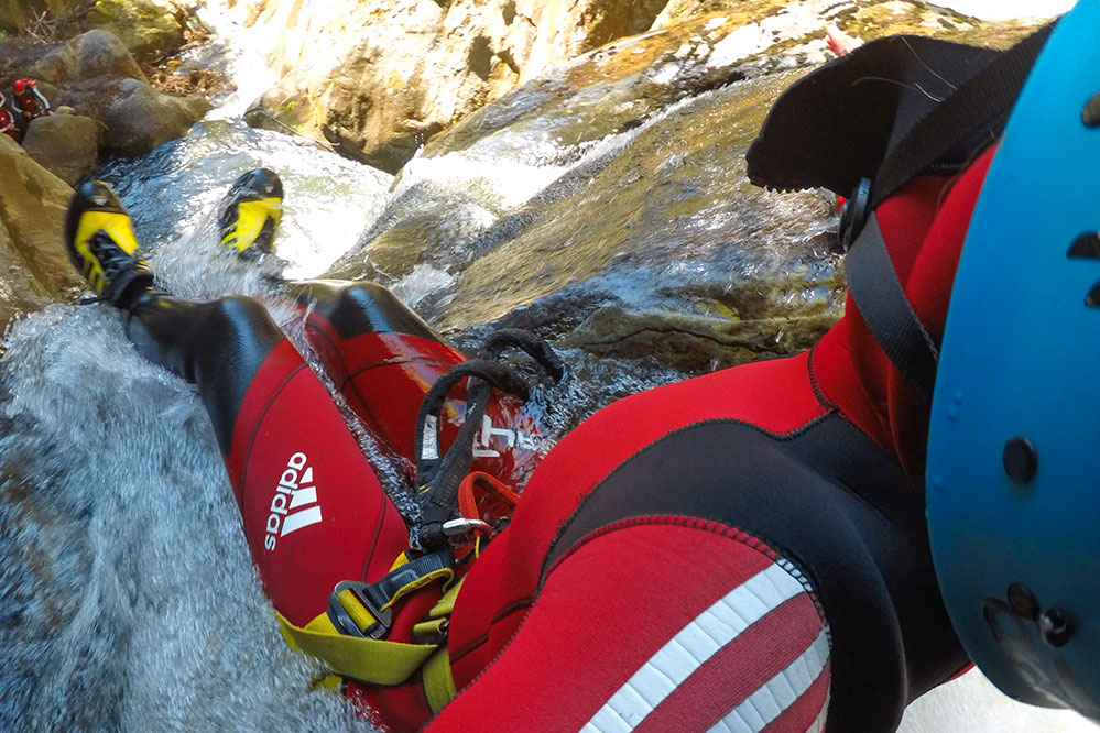 canyoning tours for advanced and beginners