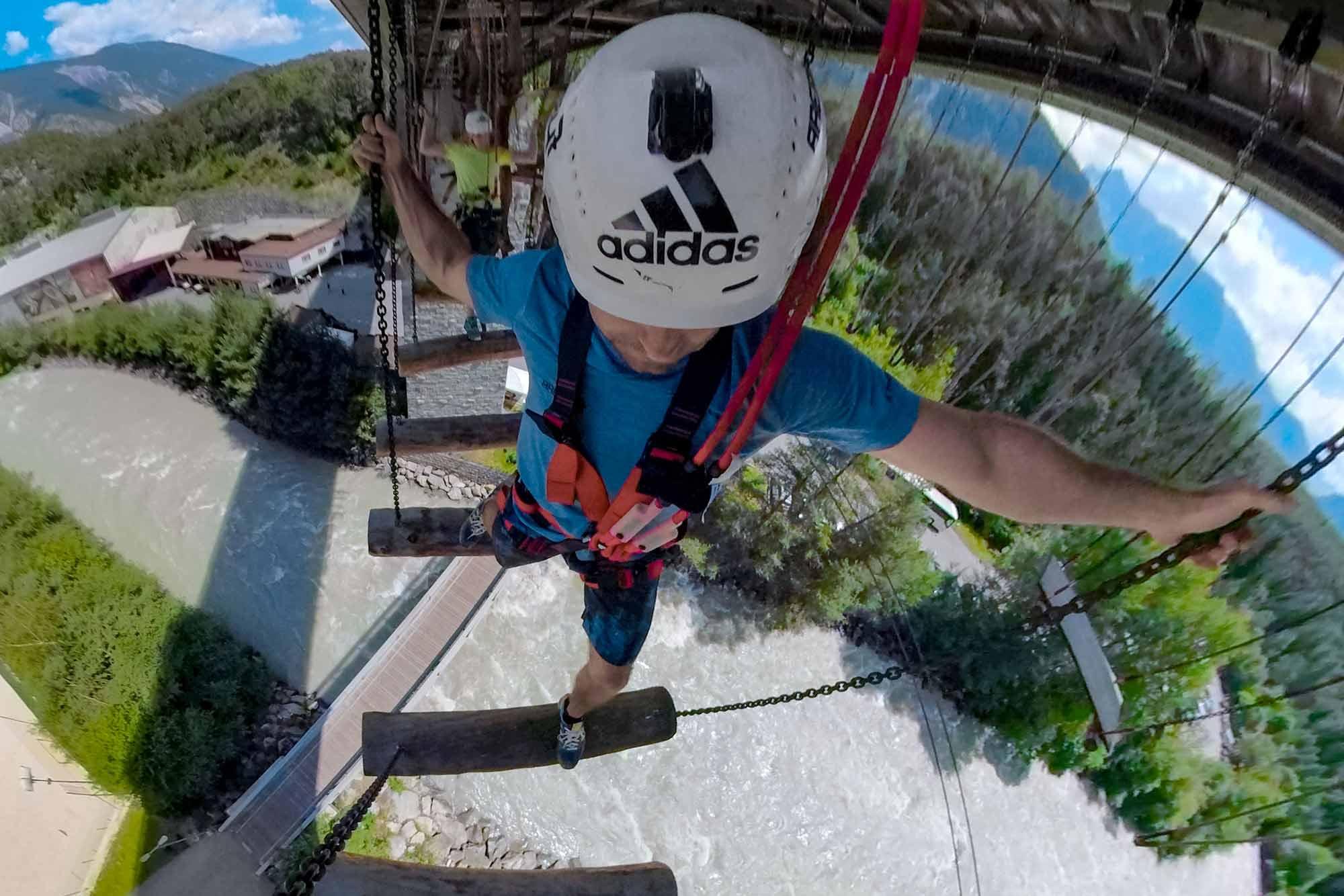 extraordinary climbing experience in tyrol