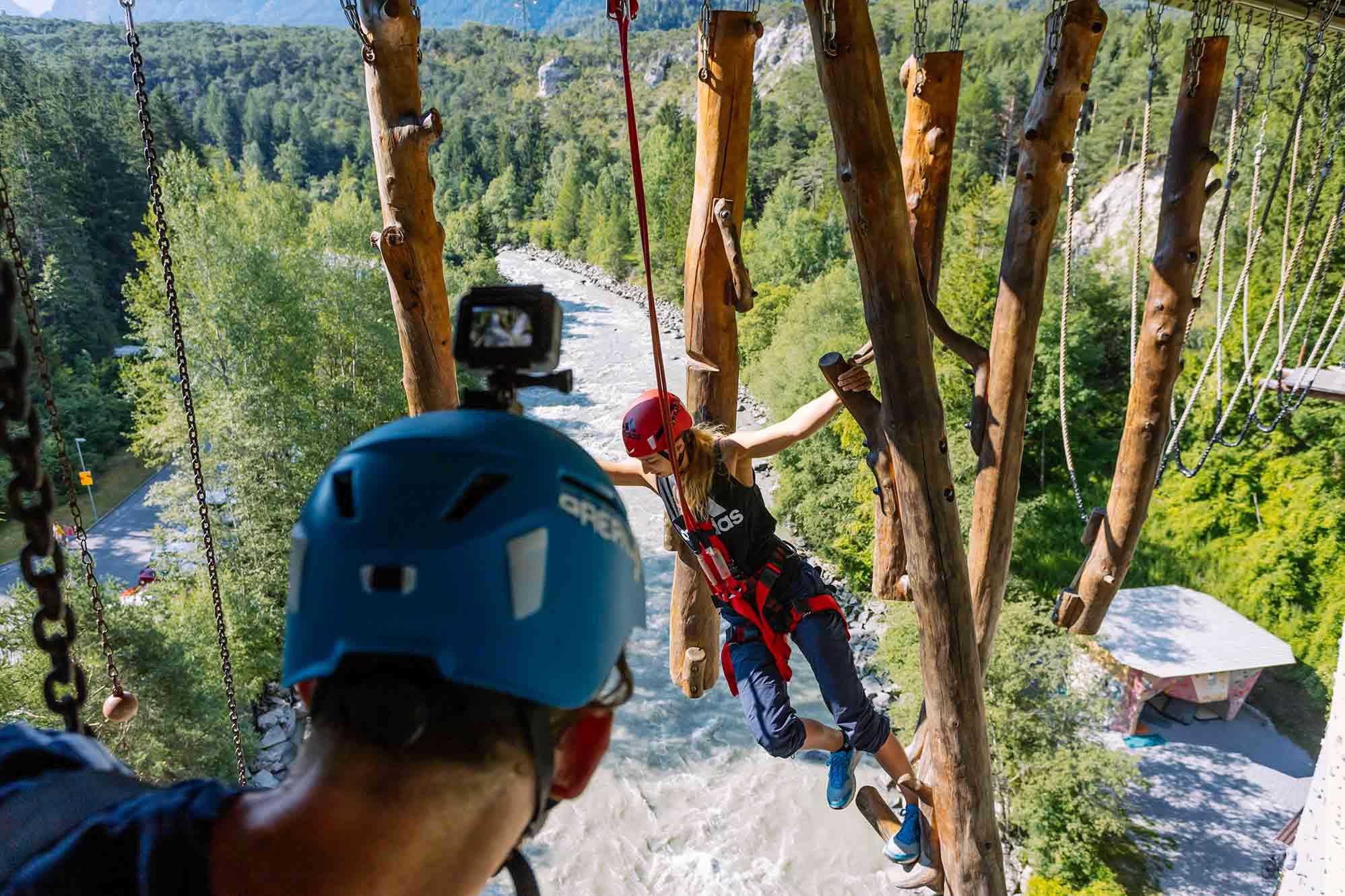 climbing adventures in the austrian alps