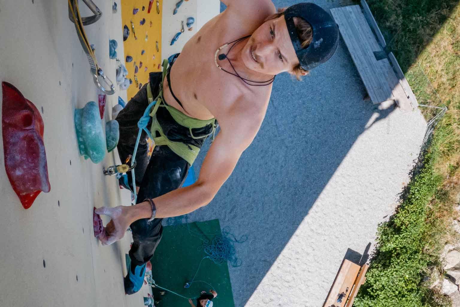 climb and boulder in austria