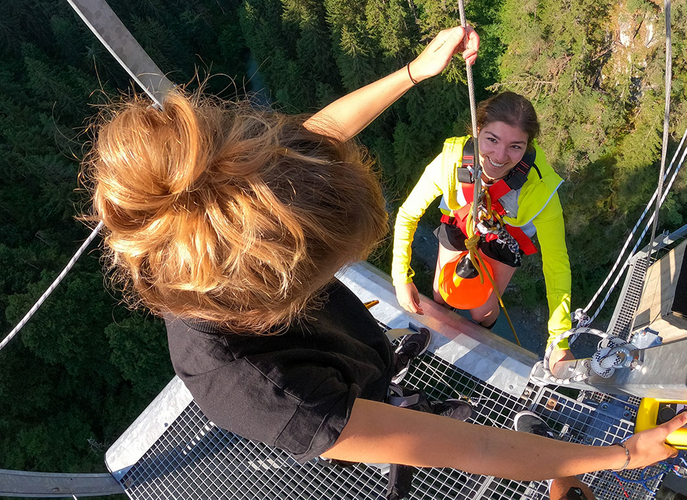Bungy Jumping in Tirol