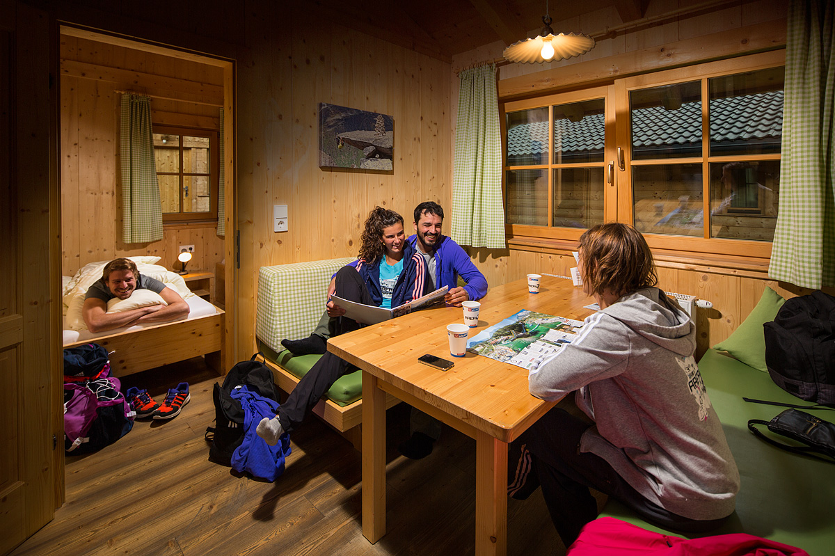 Sleepover in the lodge