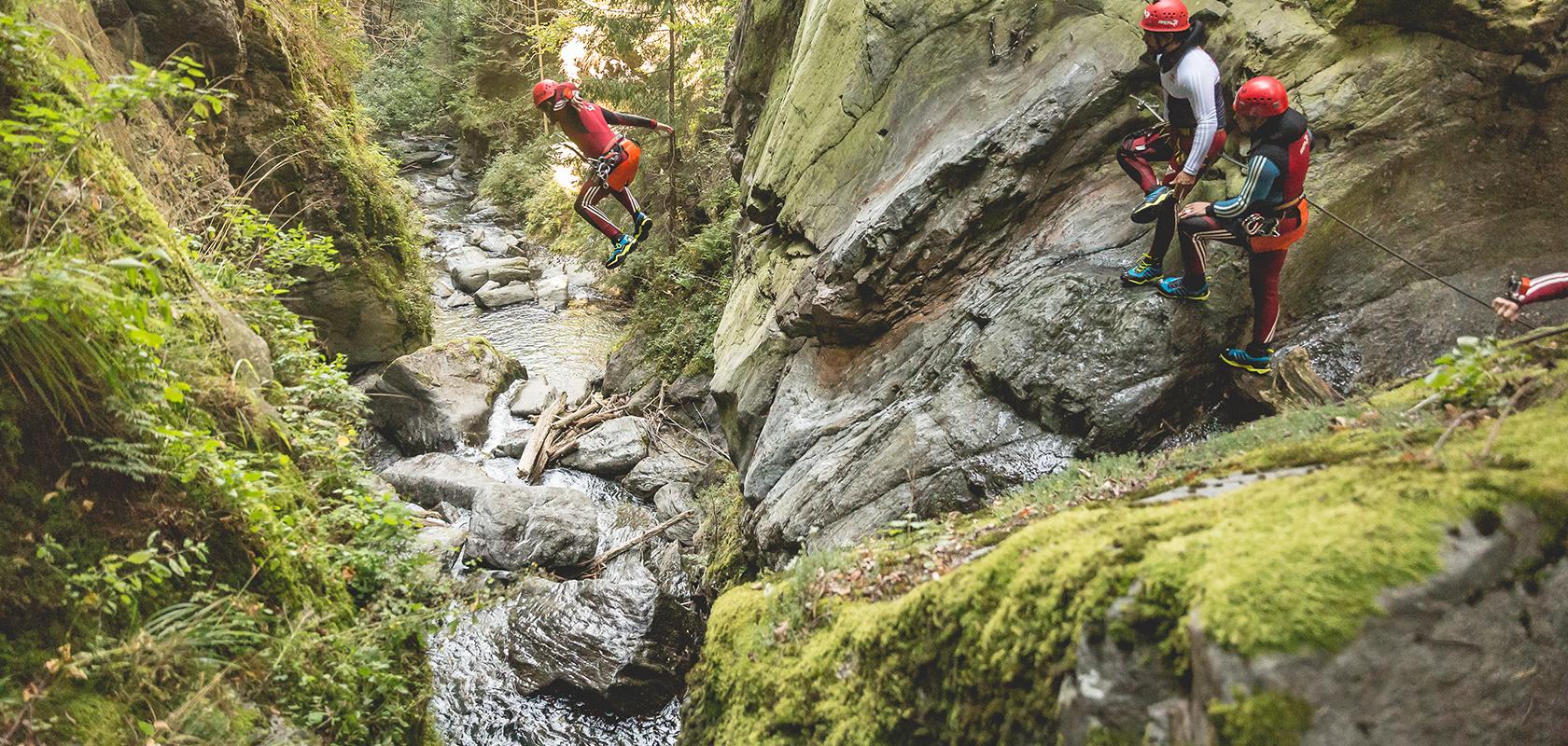 Canyoning Abenteuer in Tirol