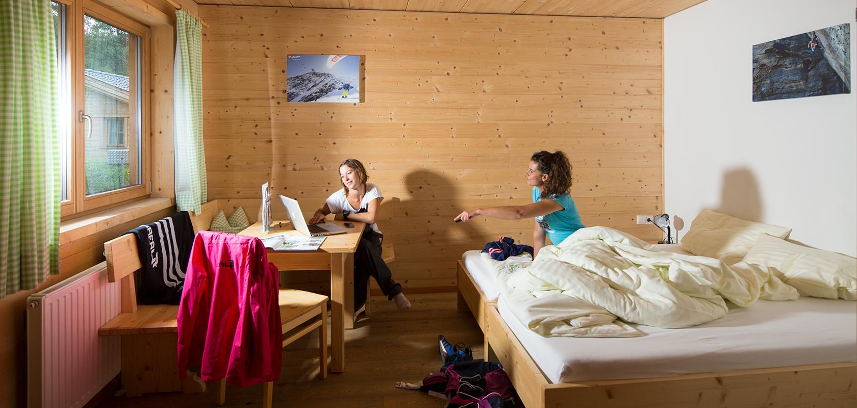 Doppelzimmer im Outddor Freizeitpark