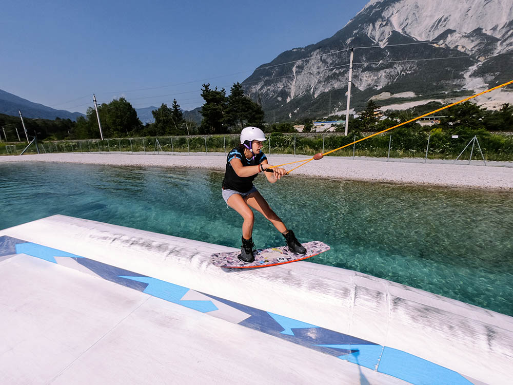 Wakeboard Camp in Tirol