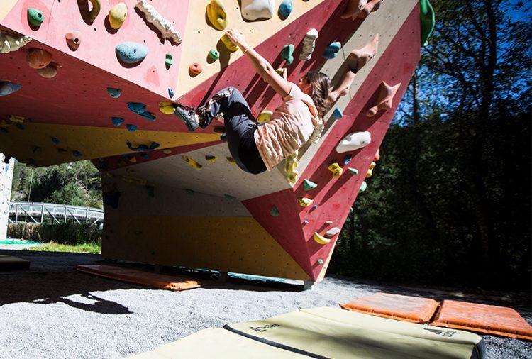Boulder-Abenteuer im Climbing Bereich