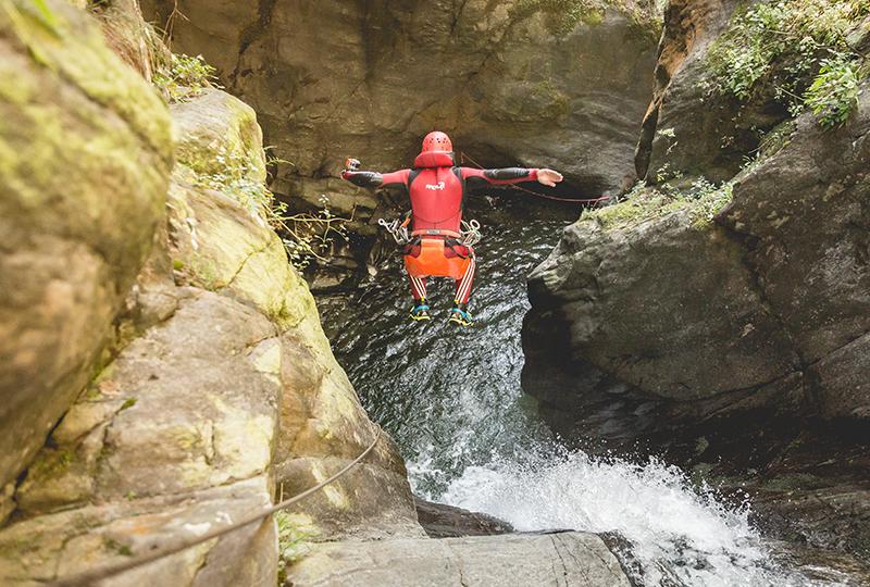 geführte Canyoning Touren in Österreich
