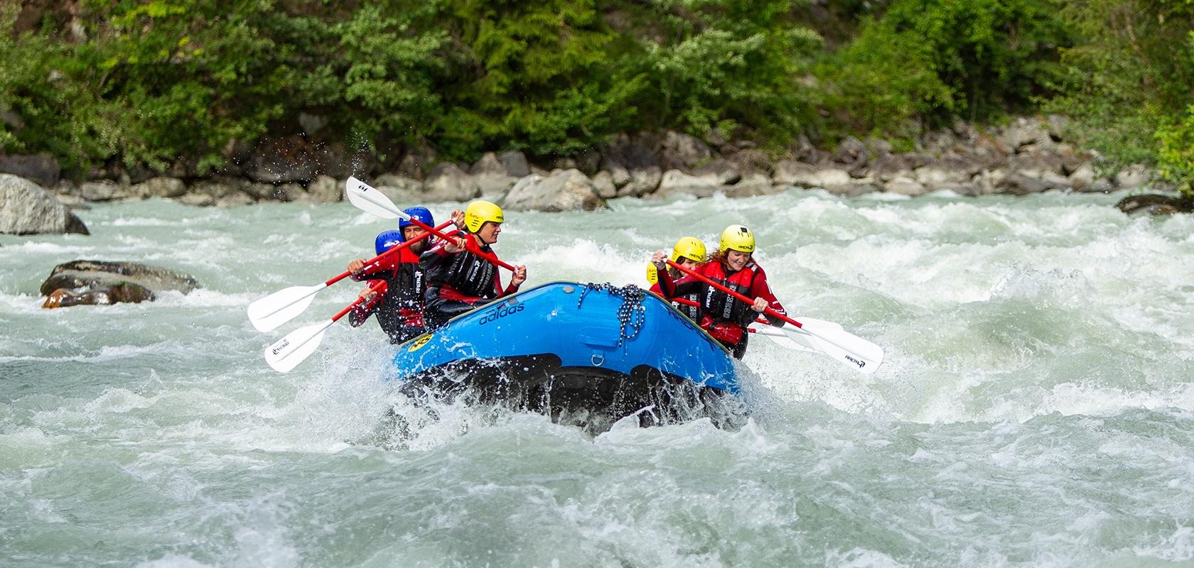 AREA 47 Rafting Touren