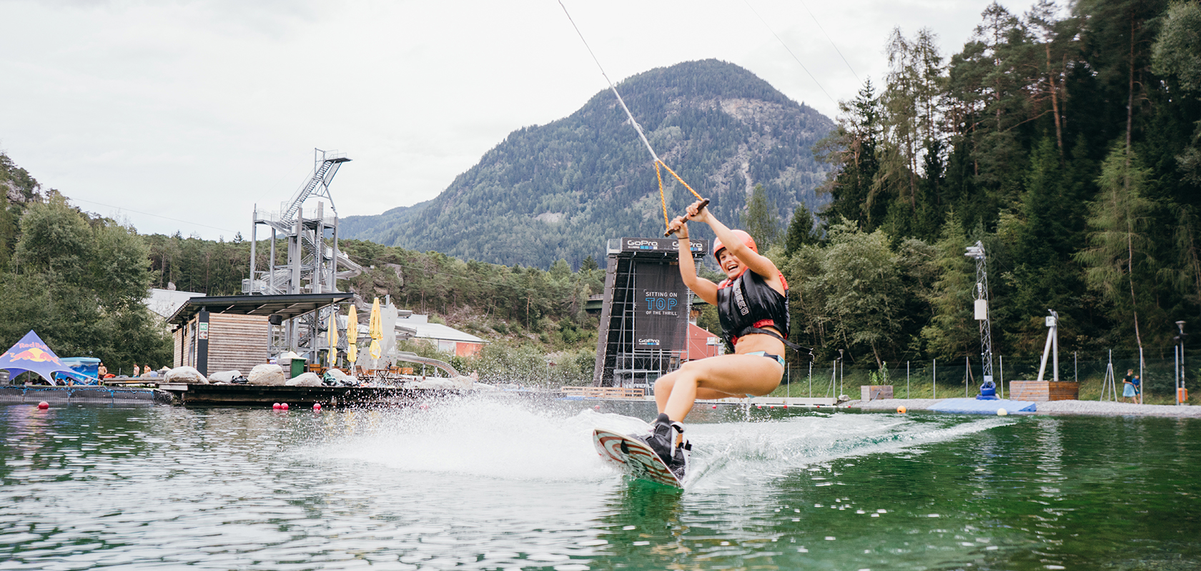 Wakeboarden testen in der AREA 47