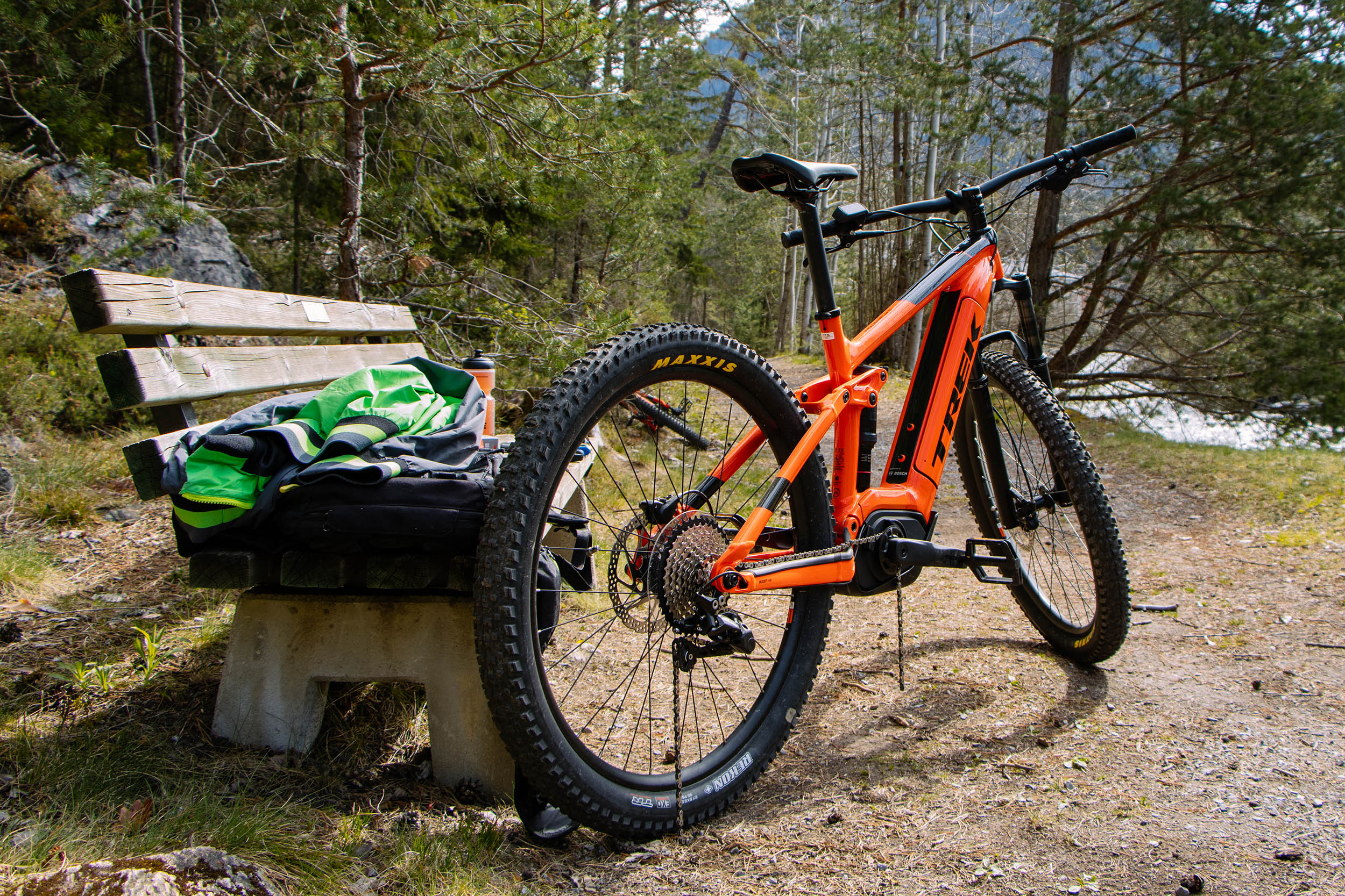Trek E-MTB in der Flotte der AREA 47 Bike Academy