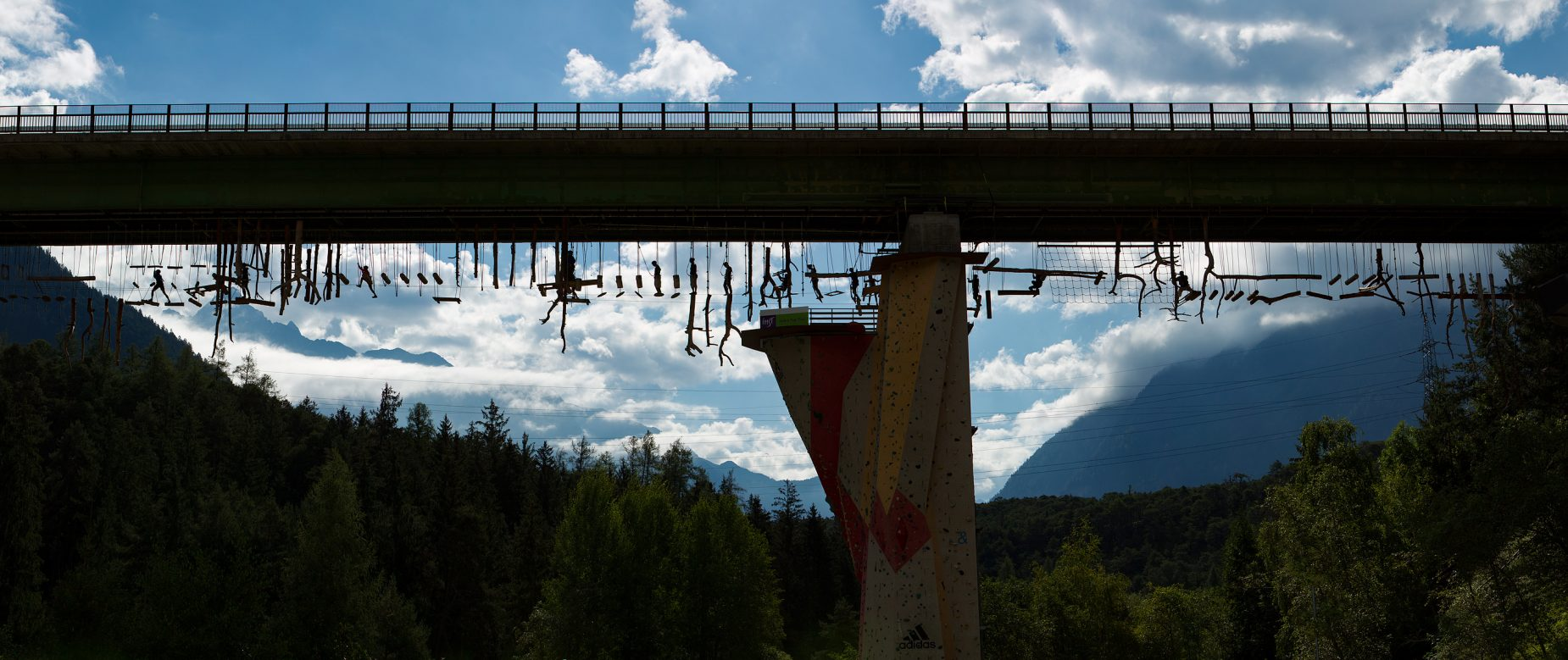 Der höchste Hochseilgarten Österreichs