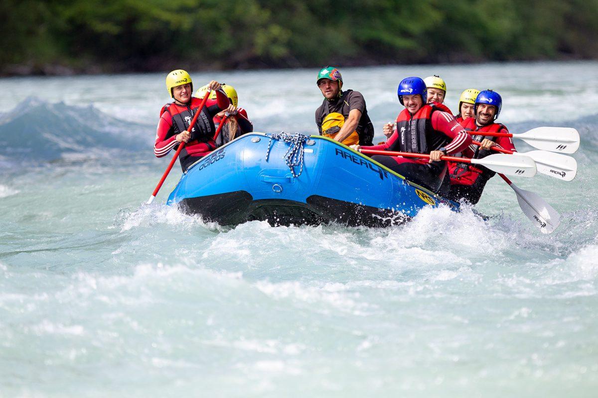 Abenteuer-Bootstour in Tirol