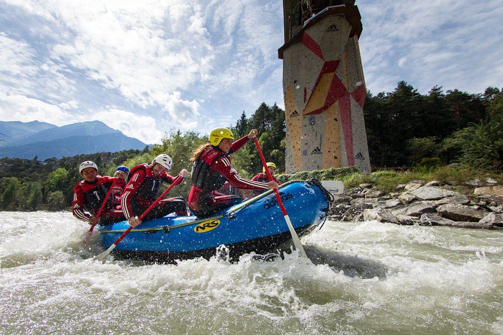 Rafting Adventure in Österreich
