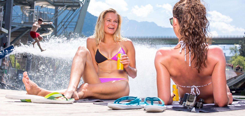Drinks an der Beach Bar