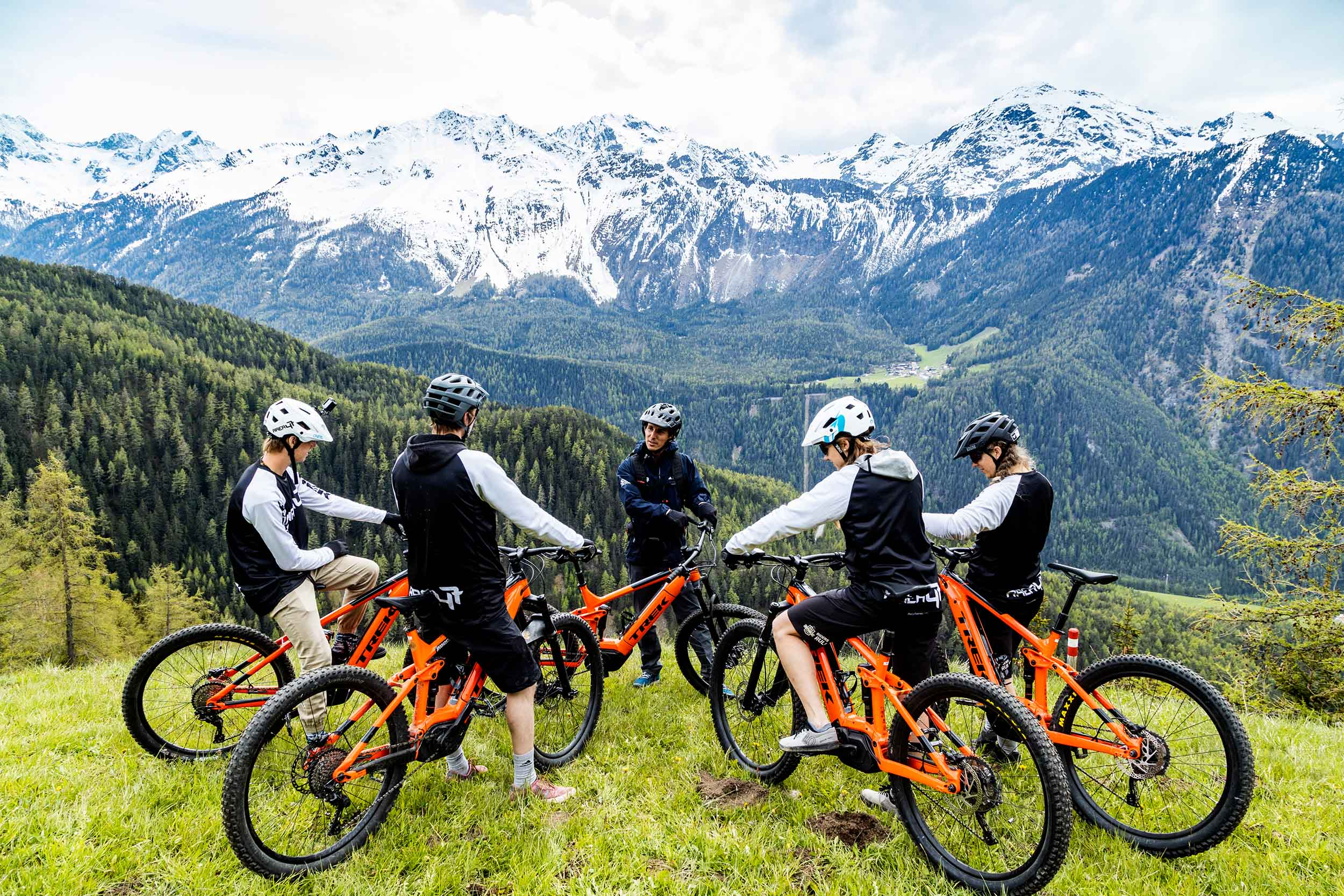 Berge, Mountainbike, Guide - Valley Loop