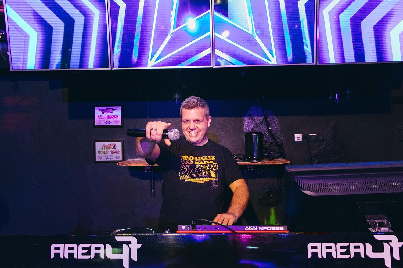 Party mit DJ Rox in der AREA 47