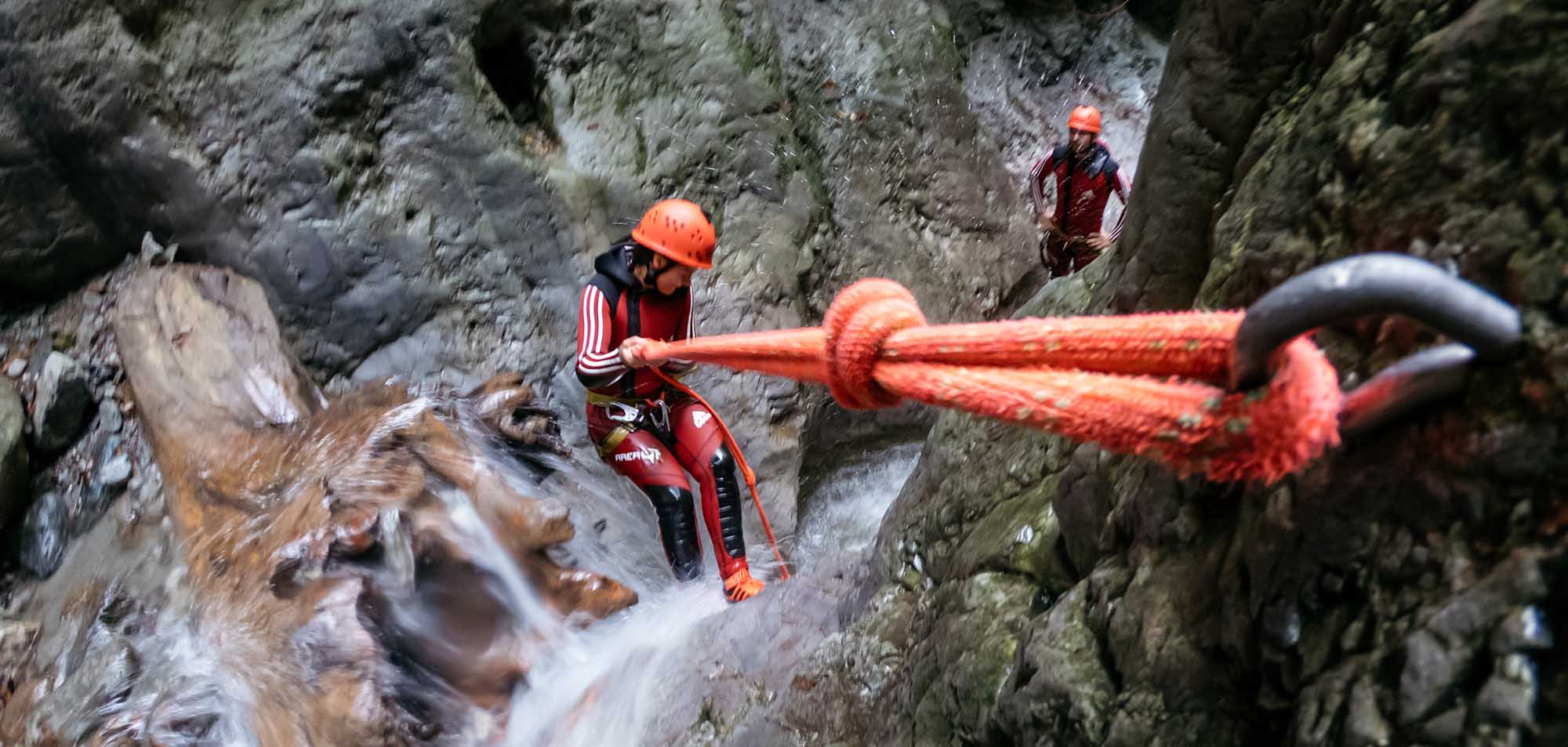 Vertical Ropes Canyoning mit AREA 47