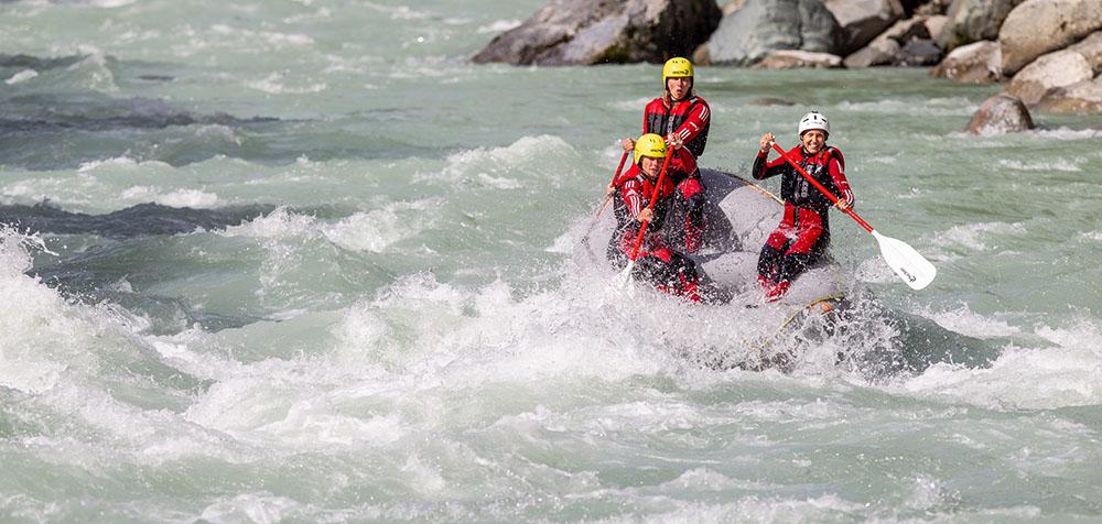 Rafting für Fortgeschrittene in Tirol