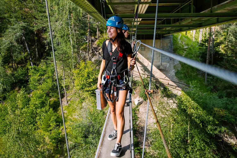 Zipline in Österreich