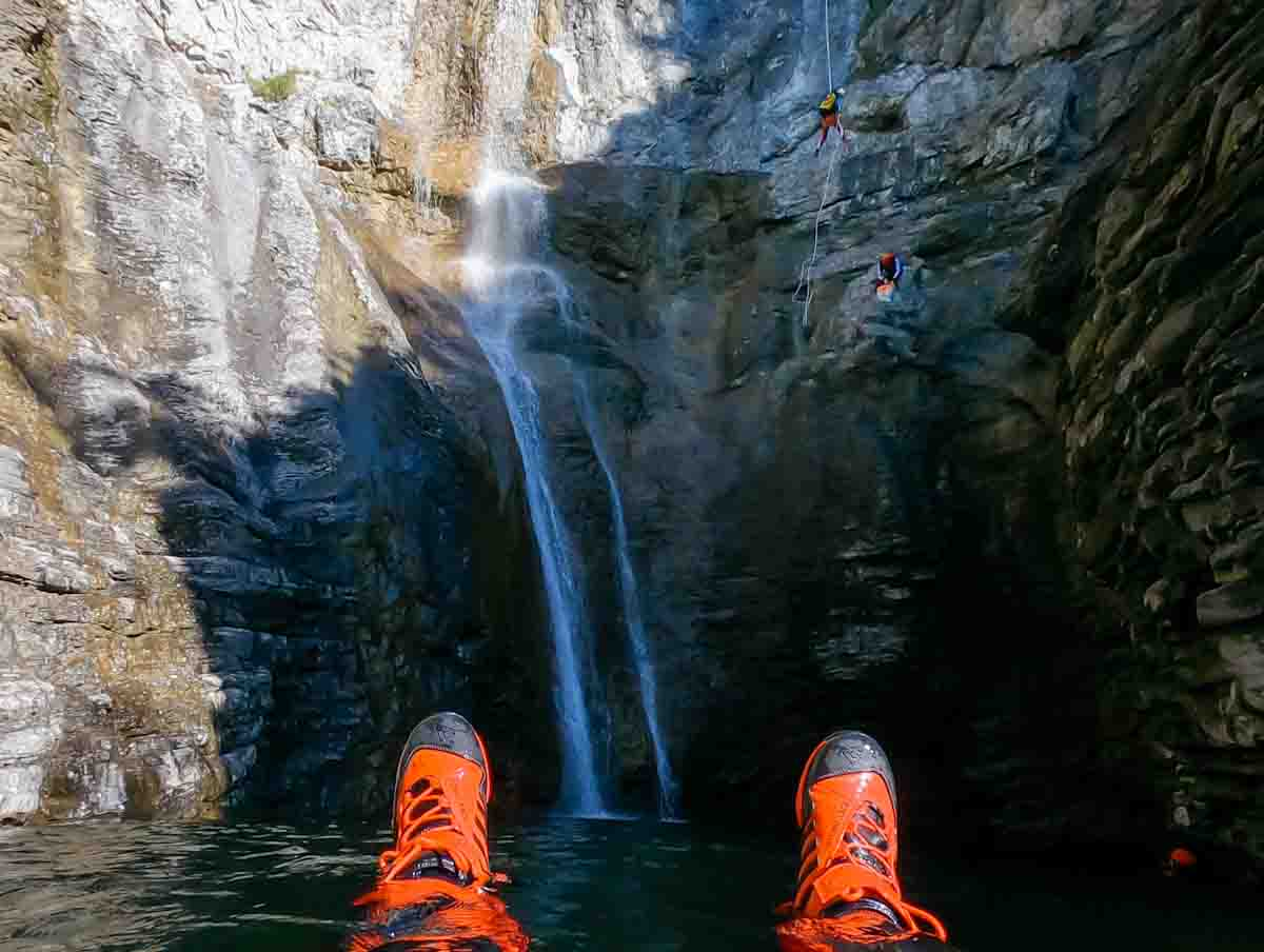 Canyoning Entspannung