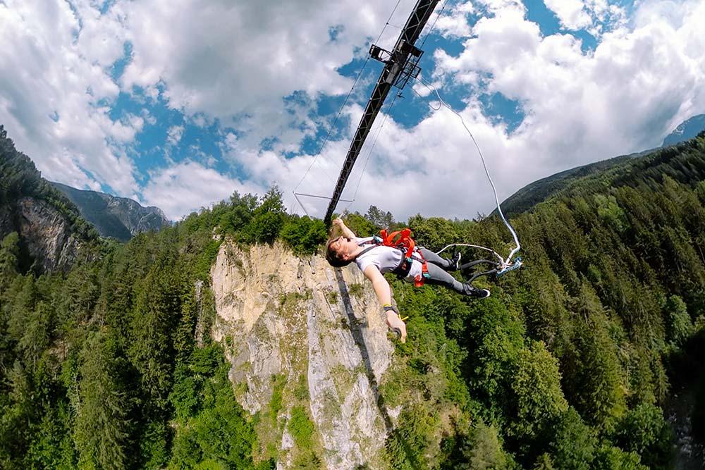 Bungee Springen in Österreich