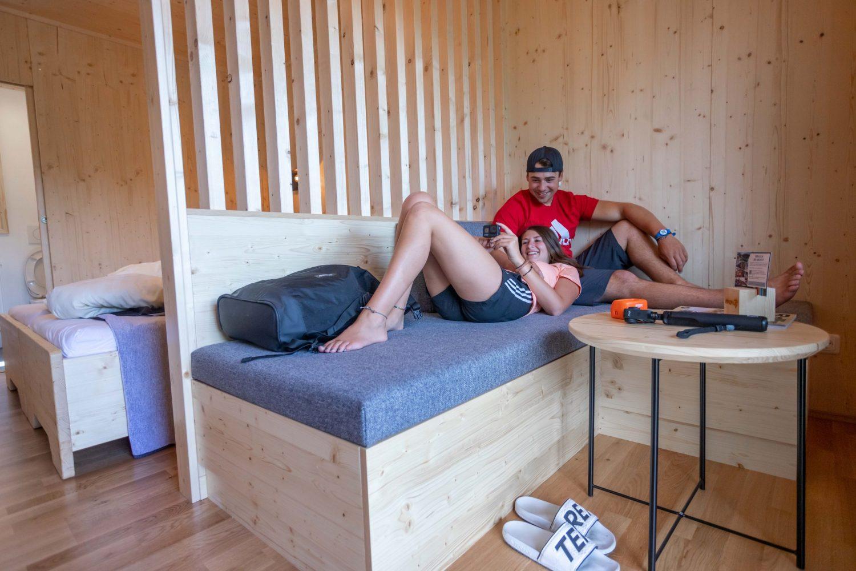 Doppelzimmer Plus in der AREA 47 in Tirol, Österreich