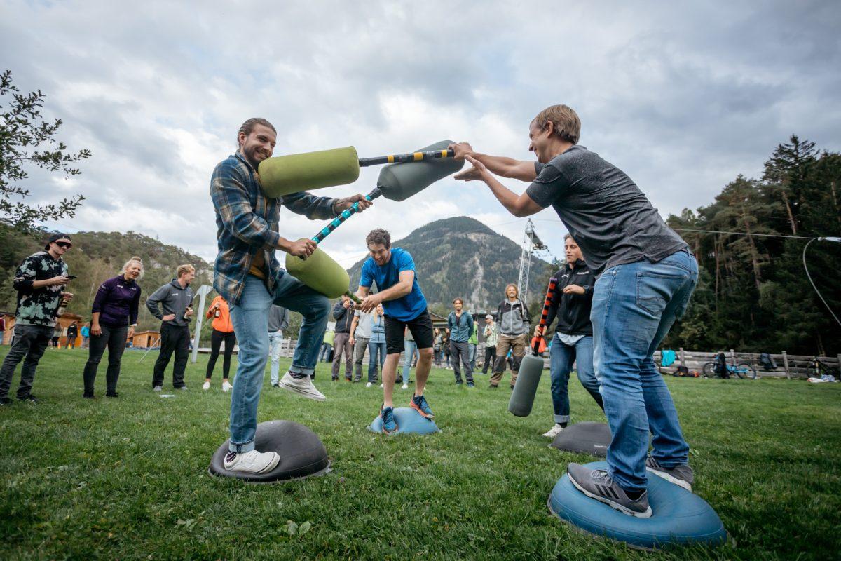 Teambuilding im Ötztal in Tirol