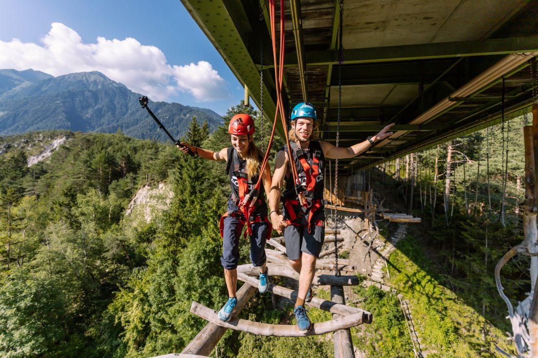 Größter Kletterwald Österreichs