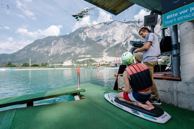 Wakeboarden für Einsteiger in Tirol, Österreich